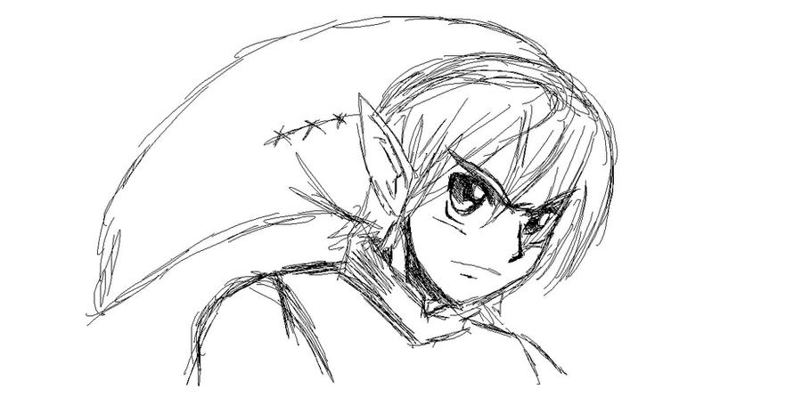 link tablet sketch by ss2sonic