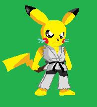 pikachu sprite by ss2sonic