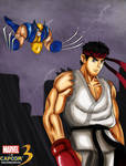 MvC3-Ryu vs Wolverine
