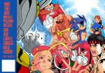 Sonic Team vs Street Fighter