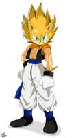 Goku and Sonic:  GONIC