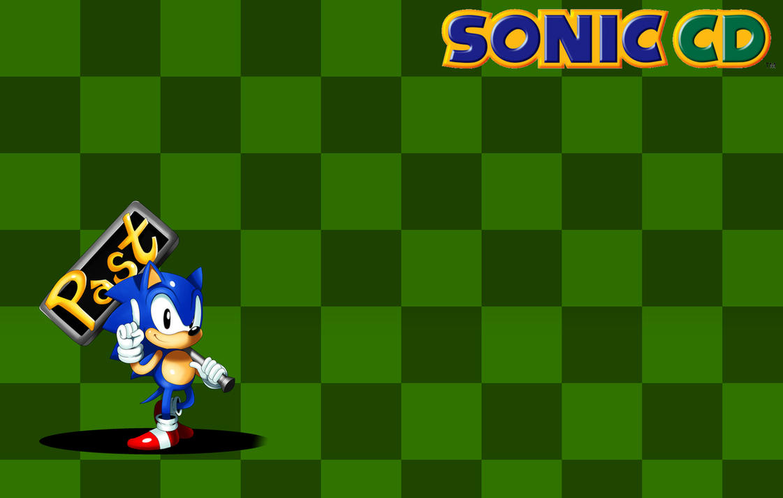 Sonic CD Wallpaper 1 By Ss2sonic