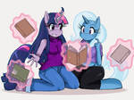 MLP: Twilight and Trixie