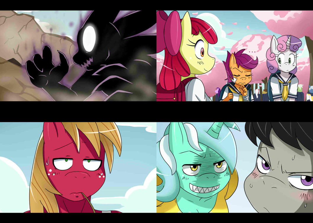 MLP Screencaps stuff 2... by ss2sonic