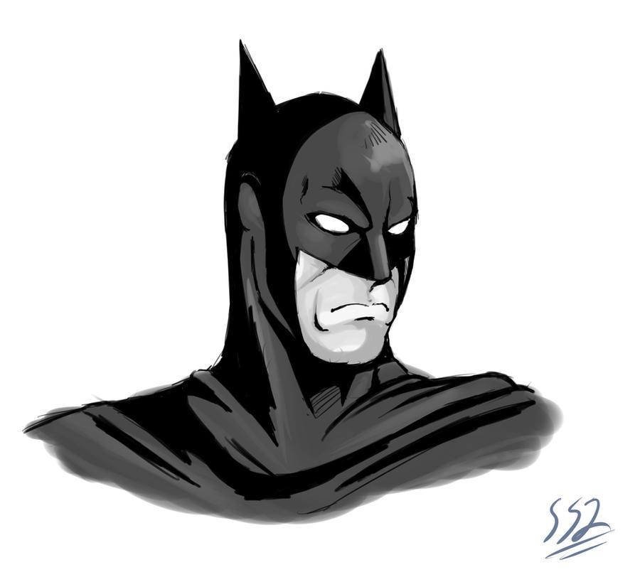 Batman by ss2sonic