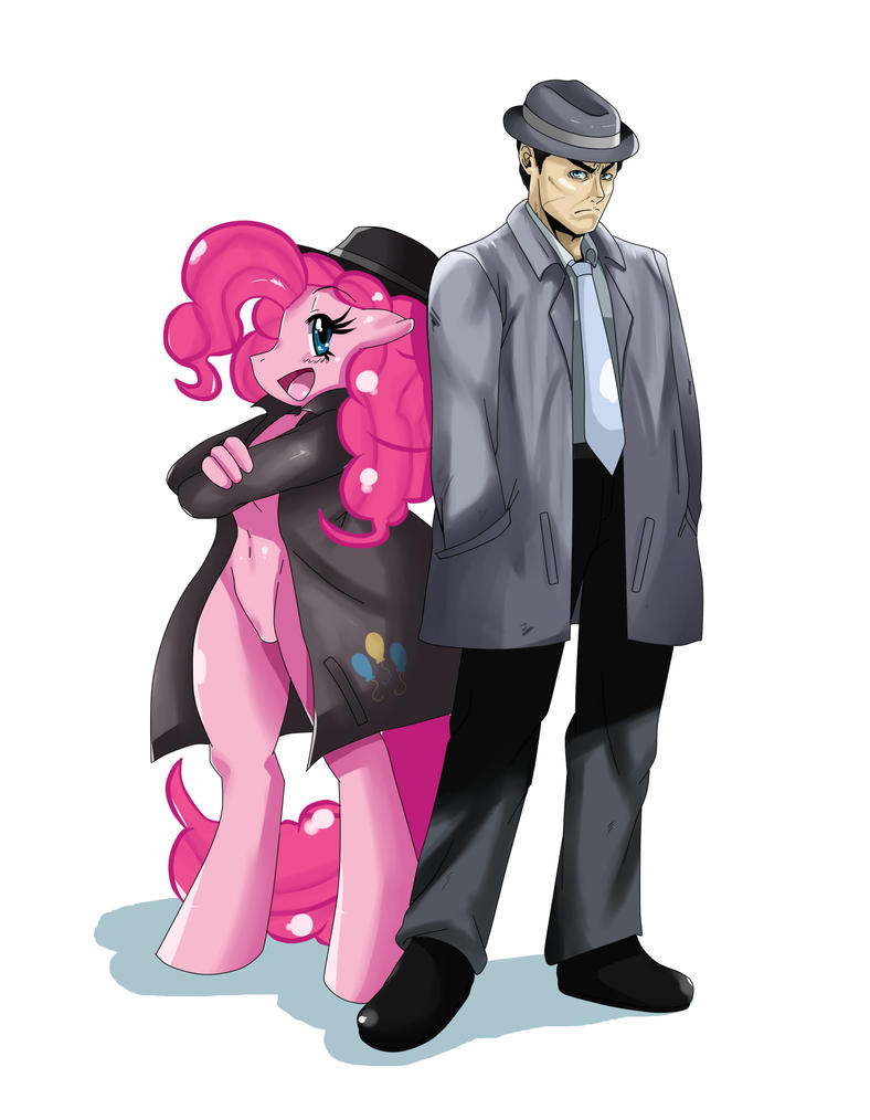 Pinkie Pie and Officer Gucci by ss2sonic