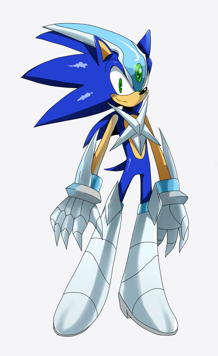 Cyber Sonic by ss2sonic