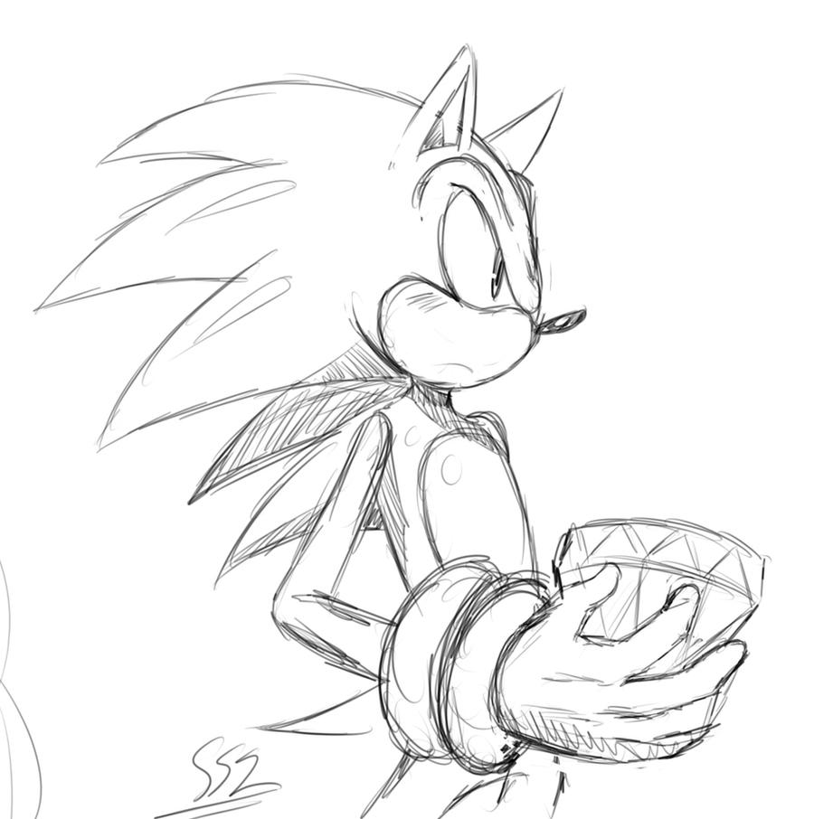 Emerald got! sketch by ss2sonic