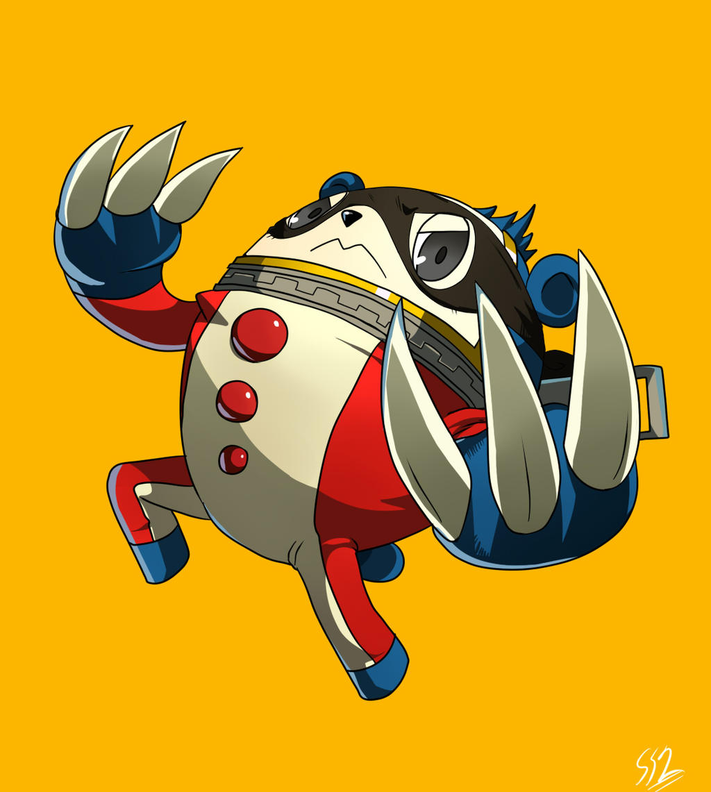 P4: Teddie :Mask: by ss2sonic