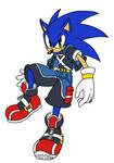 Sonic Kindgom Hearts Style