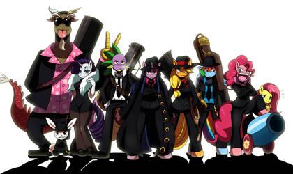 MLP Mafia by ss2sonic