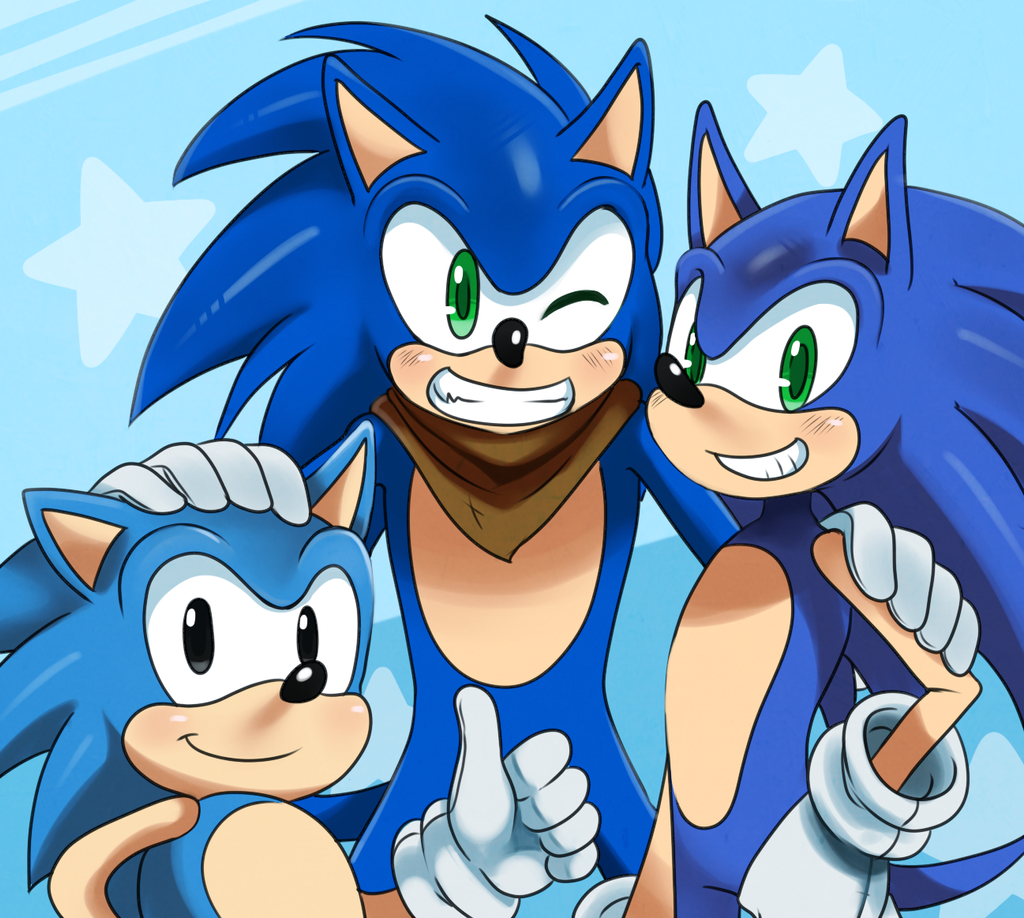 Sanic's by ss2sonic
