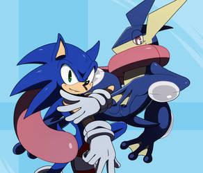 .:Sonic and Greninja:.