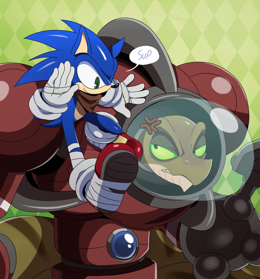 Sonic and Lyric by ss2sonic
