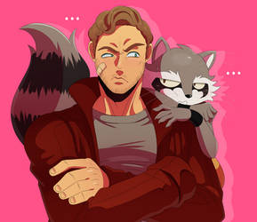 Peter and Rocket