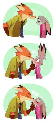 Nick x Judy...