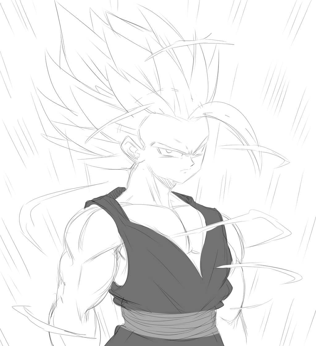 Gohan doodle by ss2sonic