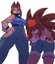 The Veleno Sisters by ss2sonic