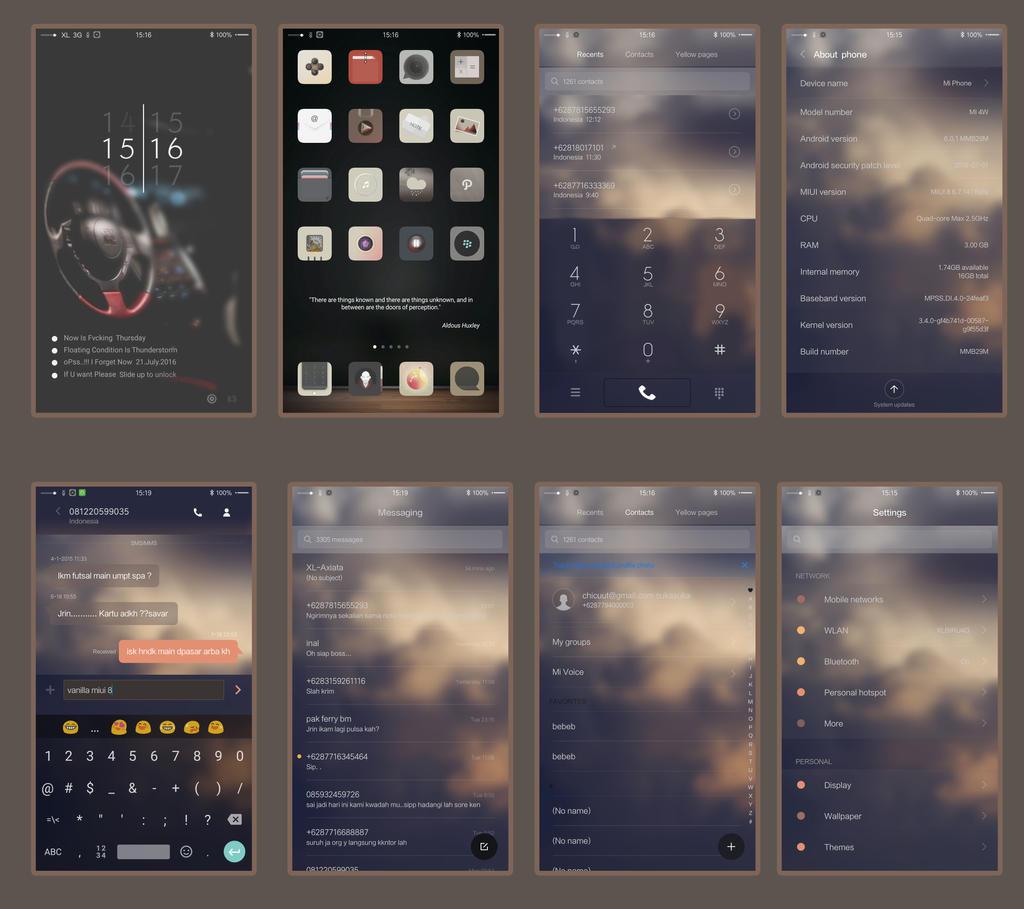 Vanilla Theme MIUI 6/7/8 by fajerij - Themes - Xiaomi MIUI