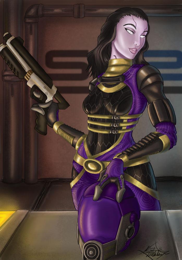 I have a shotgun... by Kirez-E