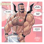 Skimpy Devil Valentine Stud by TheFabulousCroissant