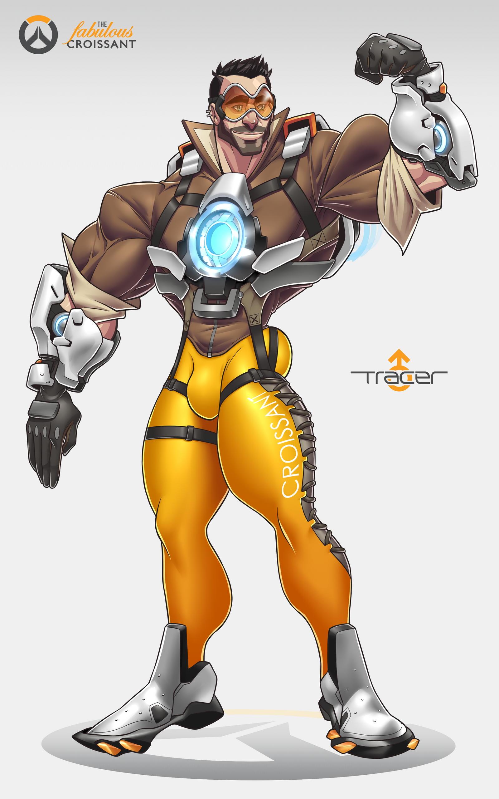 Overwatch: Tracer Genderbend by TheFabulousCroissant on ...