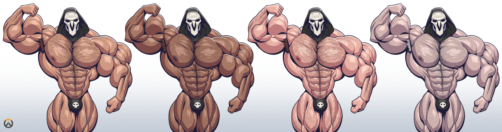 Overwatch: 4 Shades of Reaper