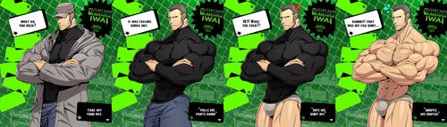 Persona 5: BARA Iwai Munehisa by TheFabulousCroissant