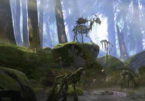 Cursed Elk by MvGorlei