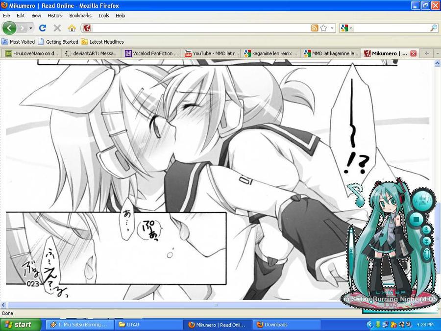 WIP: Hentai Doujin Rin Len by HiruLoveMamo