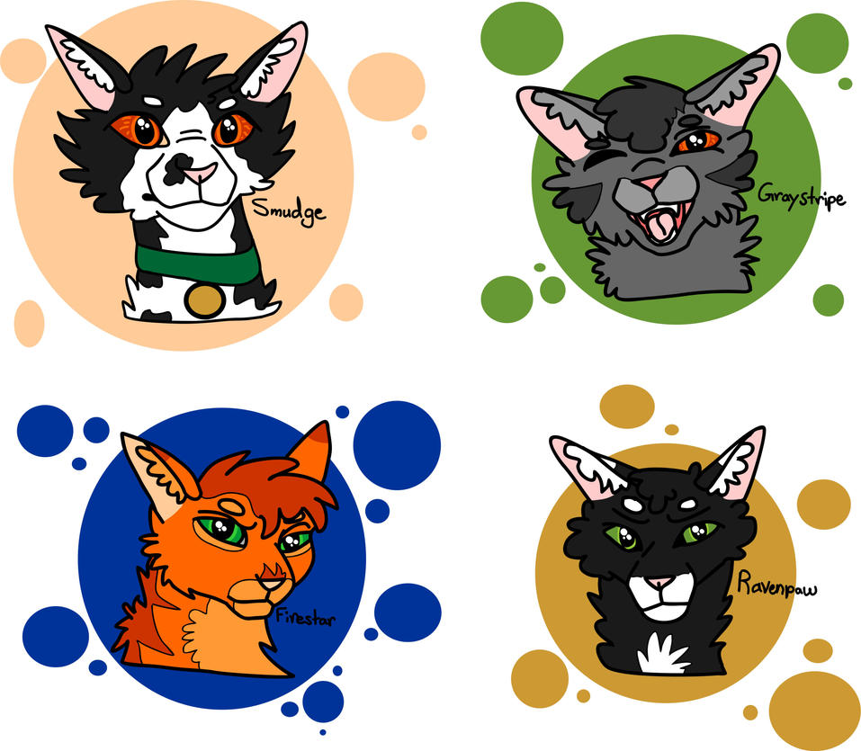 Warriors Books First Series: Warrior Cats Characters (Book One : First Series) By