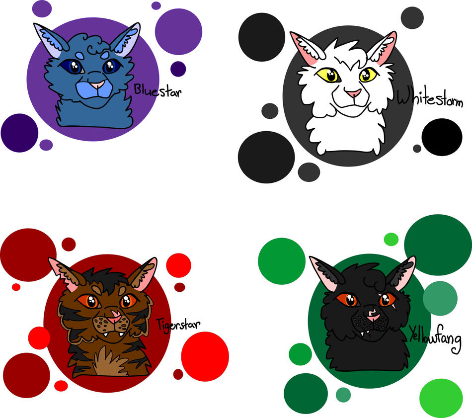 Warriors Books First Series: Warrior Cats Characters (2nd Book : First Series) By