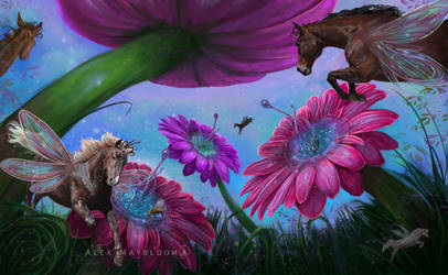 The Flower Springs by D-r-e-a-m-Catcher