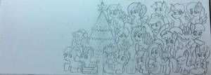 [WIP] Christmas + New year 2015 art special....