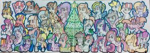 DAKA's Christmas and New year 2015 special art....