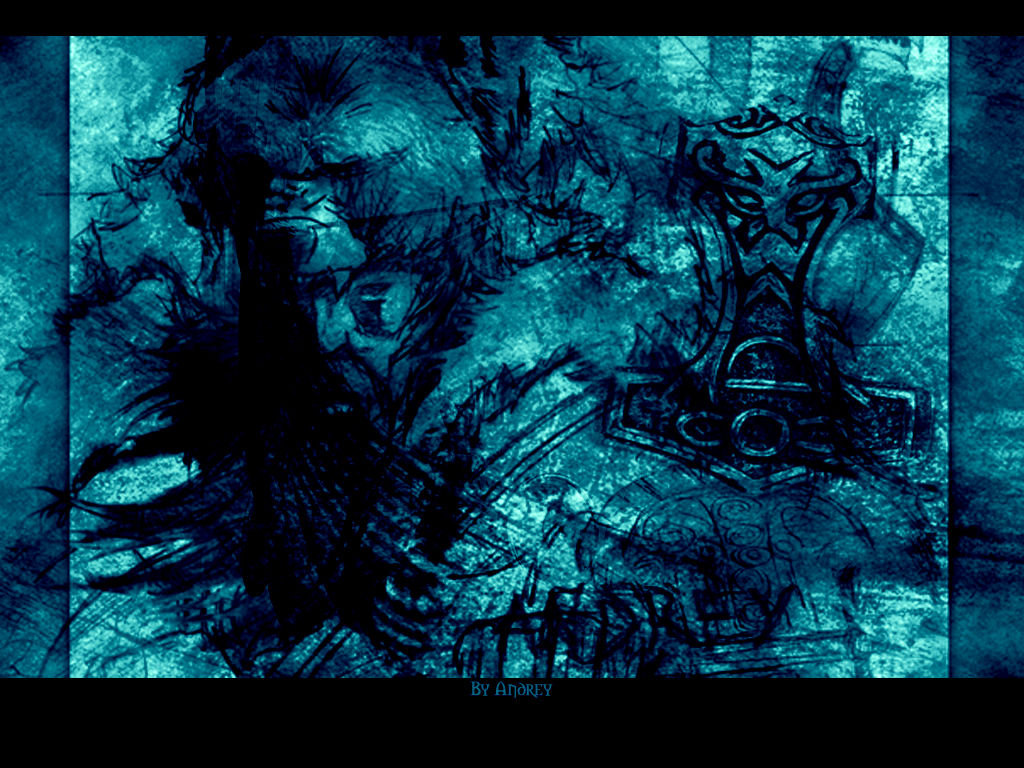Viking Abstract Blue By Andreylcf On Deviantart