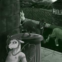 PI SA R1 - Ugh, Zombies. Hide!