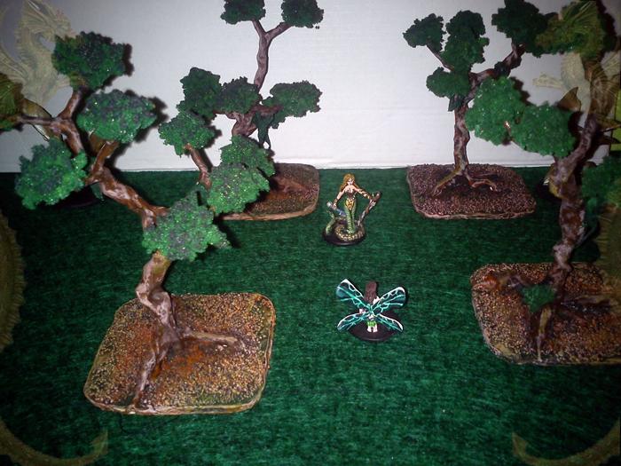Wróżka i Naga Szlachetna w kniei