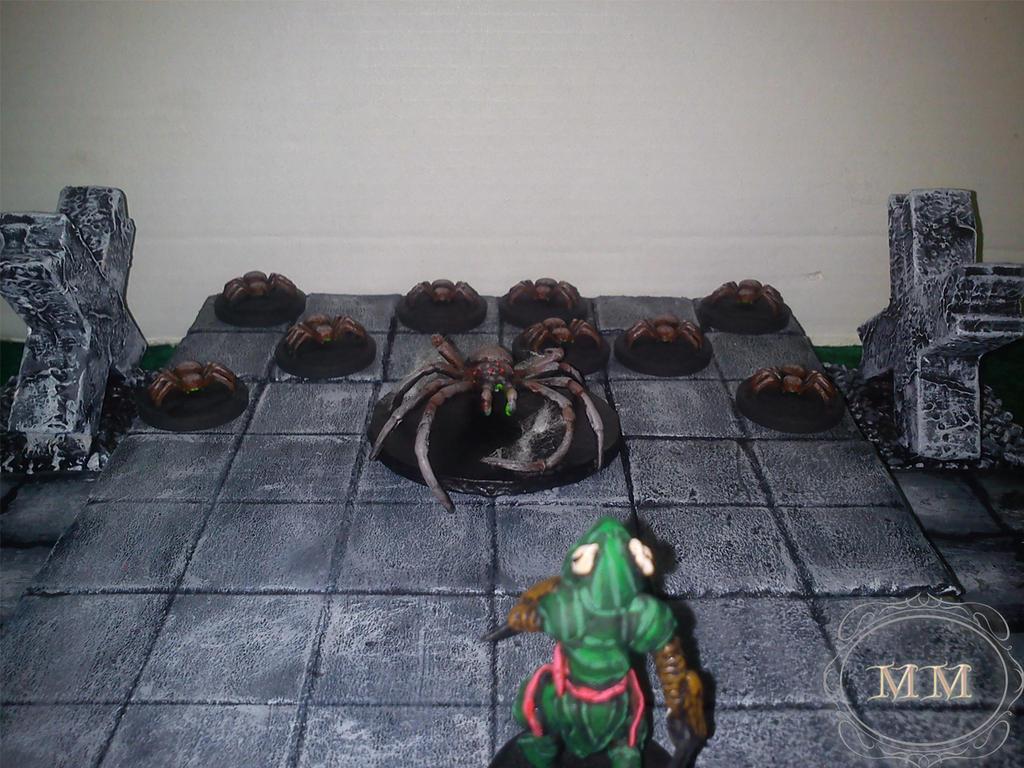 Elf znalazł pająki zamiast skarbów