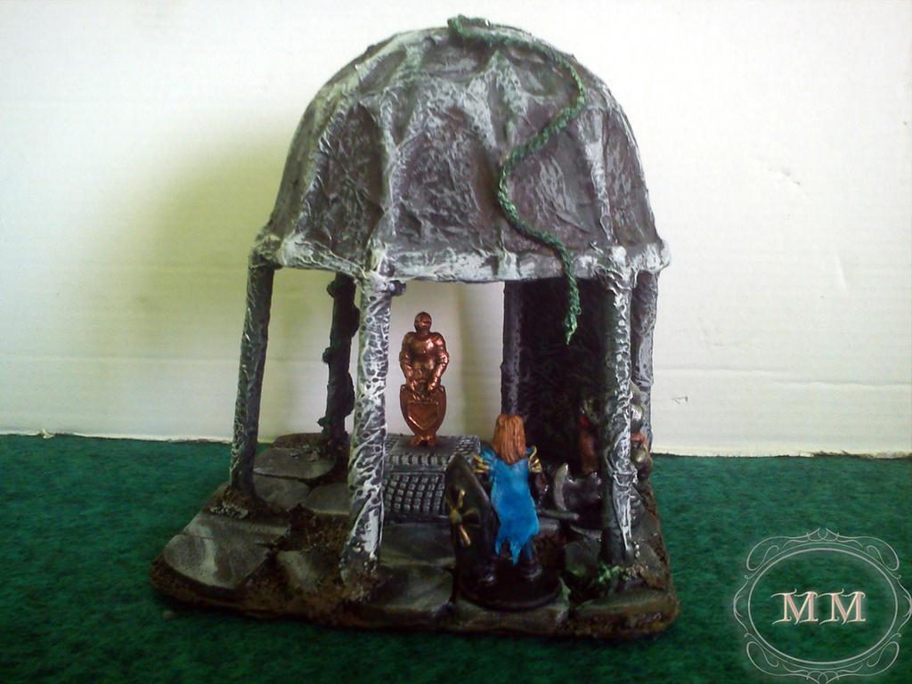 Longilus przy kaplicy rycerza