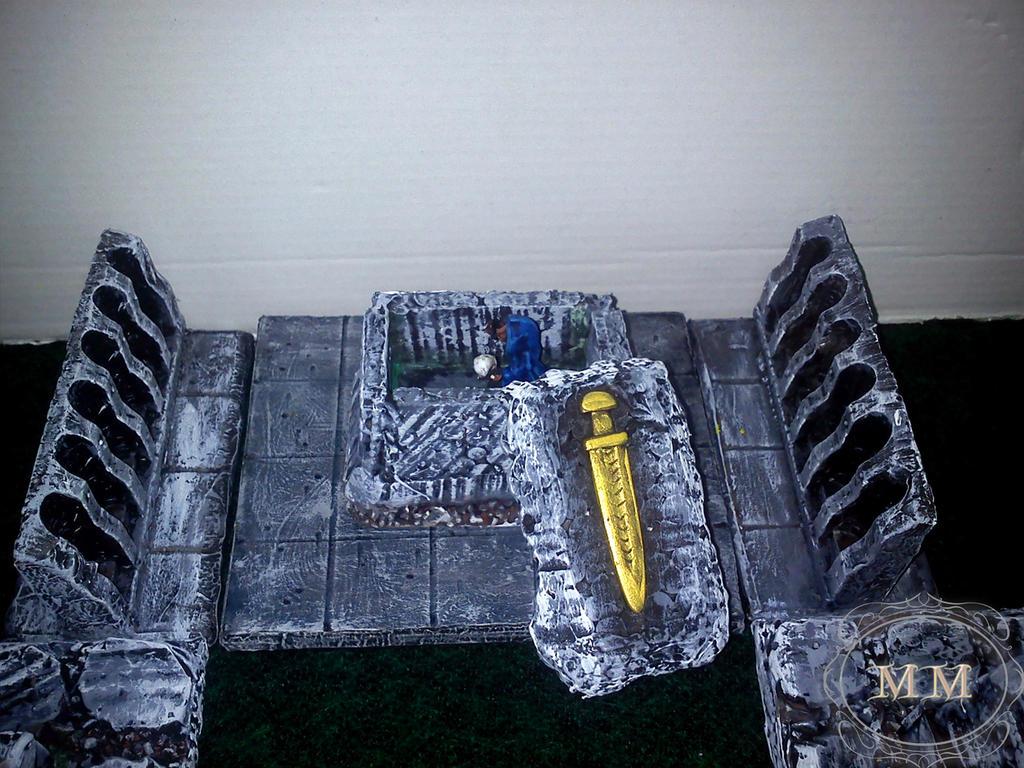 Uchylony sarkofag