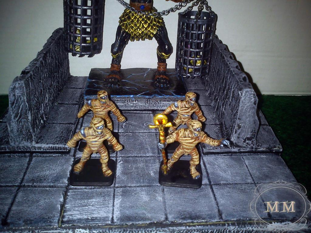 Mumie z Lordem z frontu