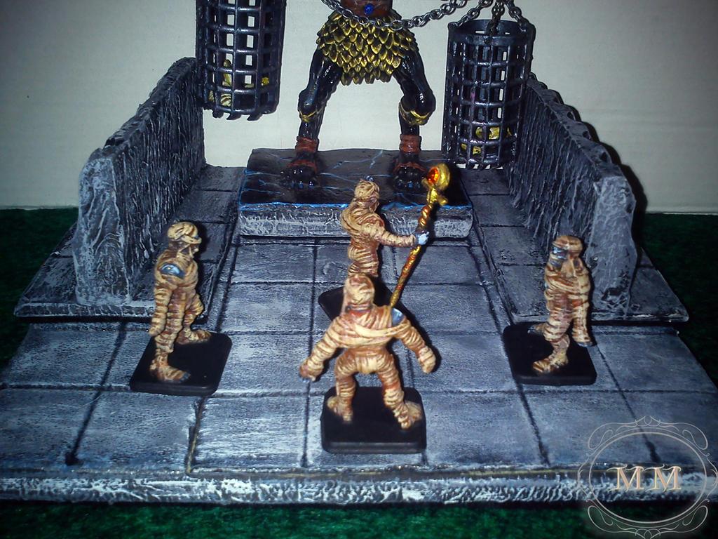 Zgrupowane mumie