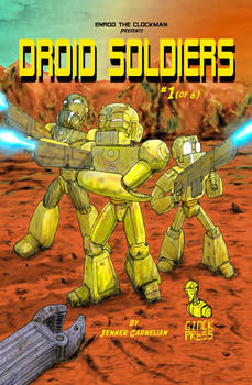 Droid Soldiers: Chapter One Cover Art