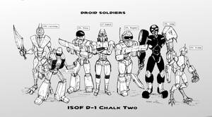 Droid Soldiers Cast 02