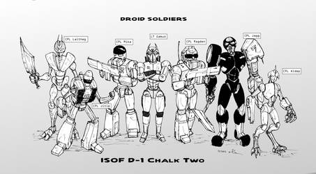 Droid Soldiers Cast 02