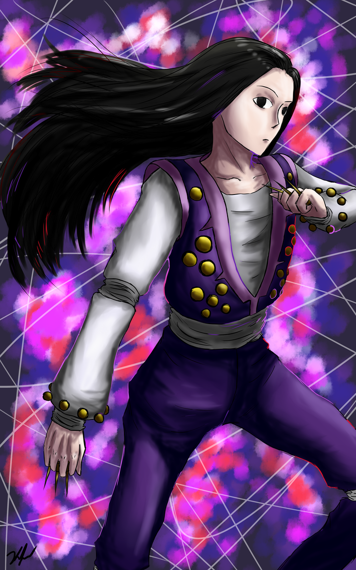 Illumi for Jester--Girl by D-of-Evil