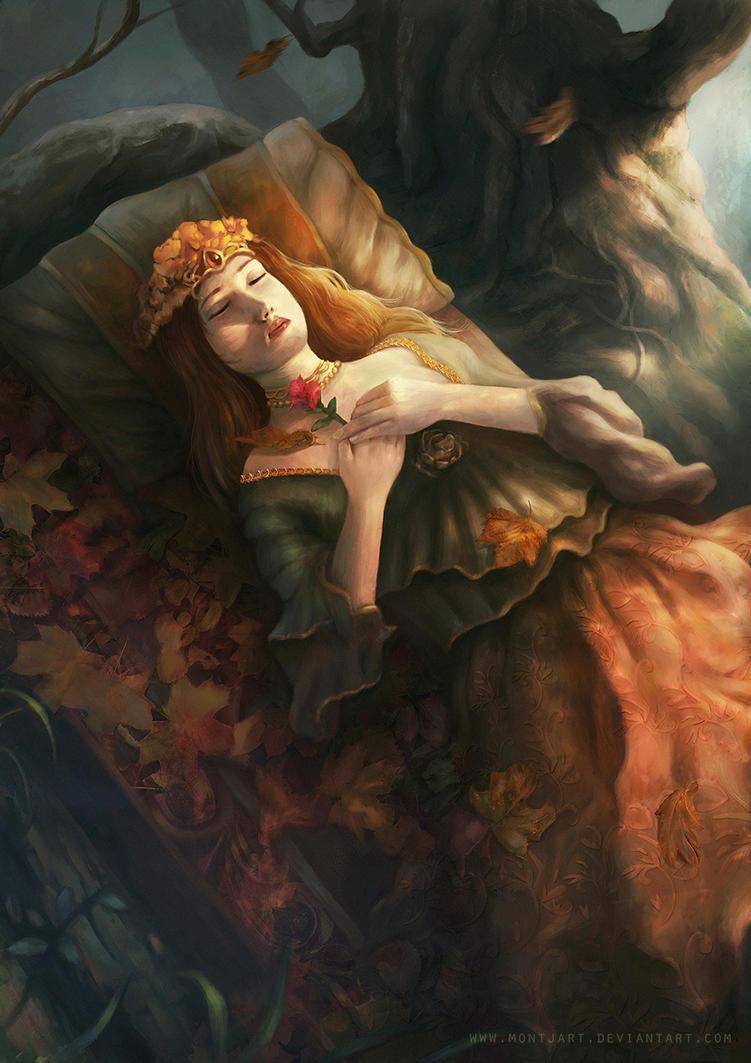 Sleeping beauty by Montjart