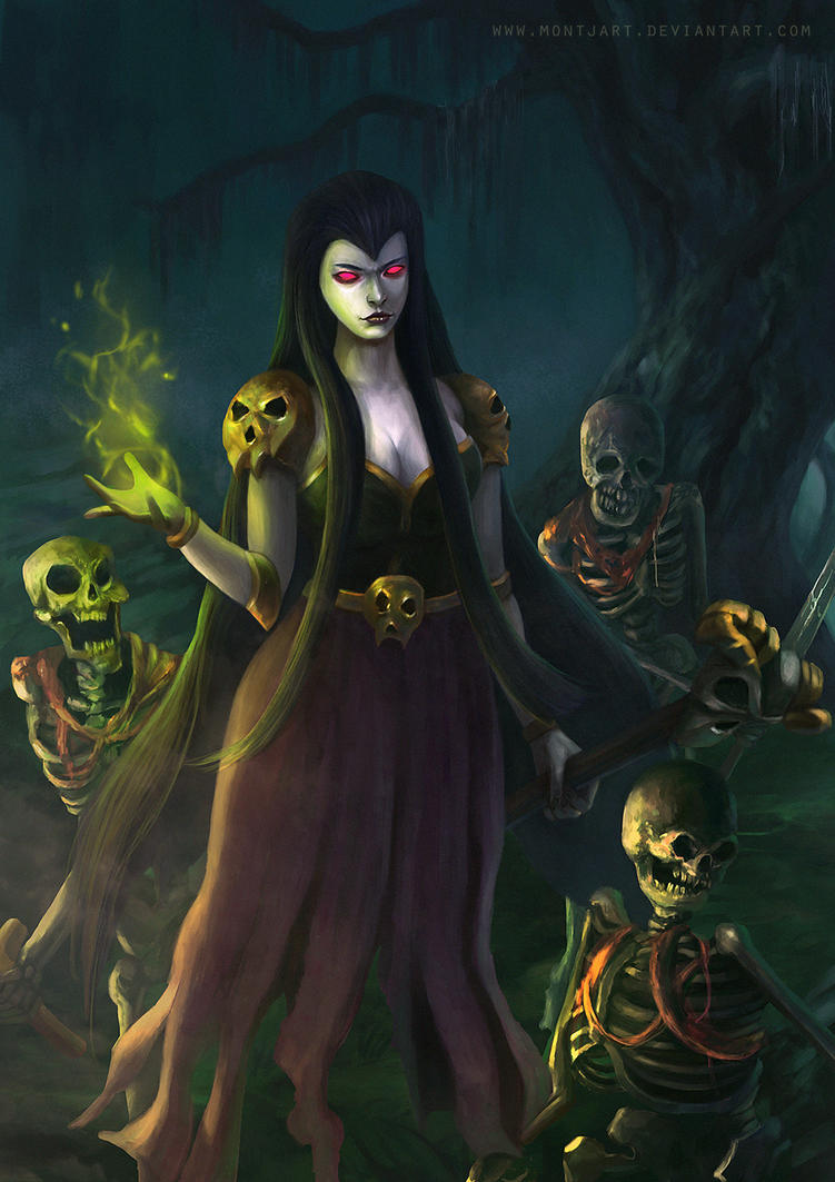 The witch by Montjart on DeviantArt
