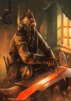 The Blacksmith by Montjart